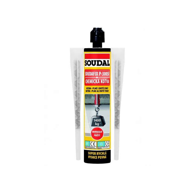 Химический анкер SOUDAFIX P-300SF 280мл