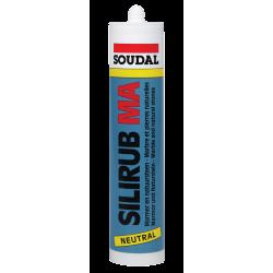 Силируб МА серый мраморный силикон 310мл
