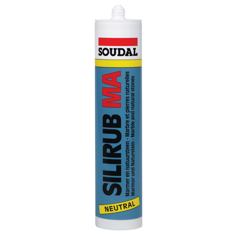 Силируб МА белый мраморный силикон 310мл