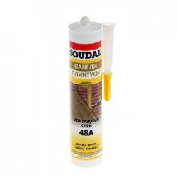 Клей для стеновых панелей каучуковый 48А 300мл