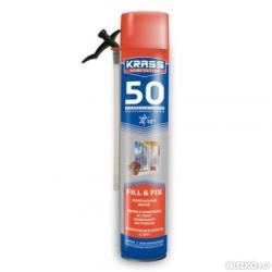 Пена монтажная KRASS Home Edition 50 Зима 0,75л
