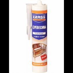 Клей KRASS жидкие гвозди для древесины Эластичный монтажная